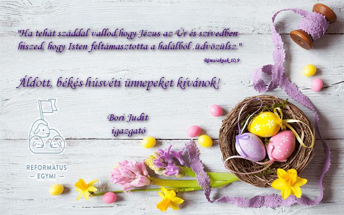 Bori Judit húsvéti üdvözlet 2021